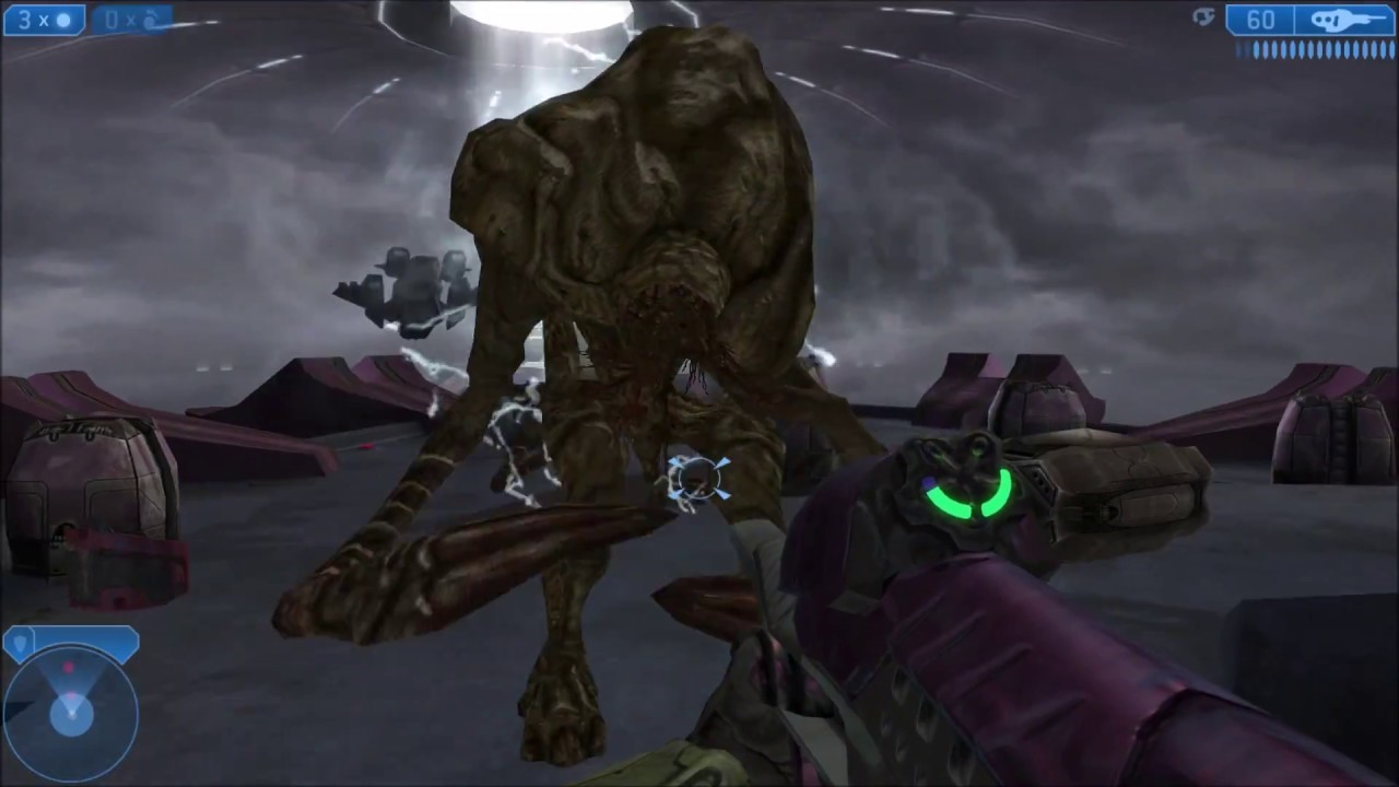 The Flood Juggernaut,  a cut Flood form that reached some fame when Halo 2 Modders found it in files