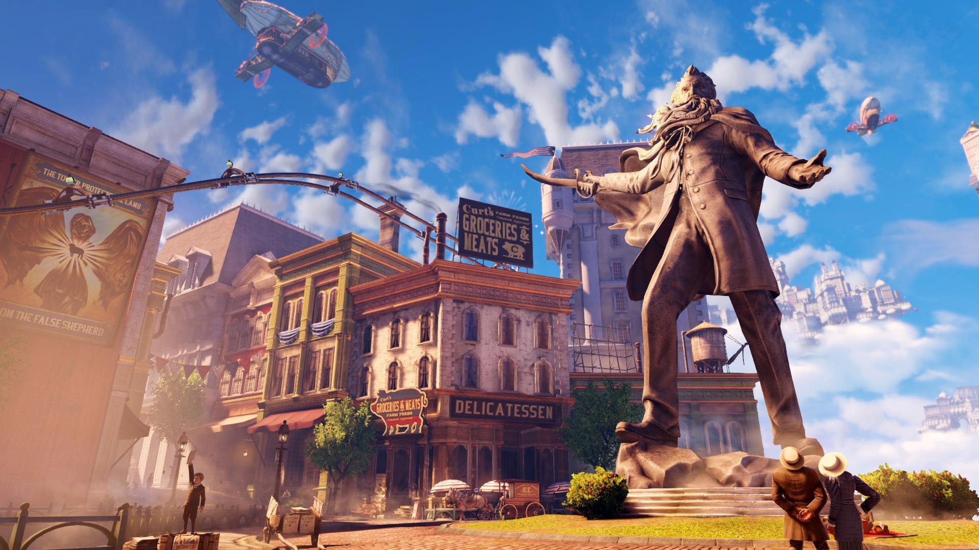 There is always a man, a lighthouse, and a city. Bioshock: Infinite drew to the original series in more ways than one, receiving critical acclaim and even now being cited as one of the best video games of all time.
