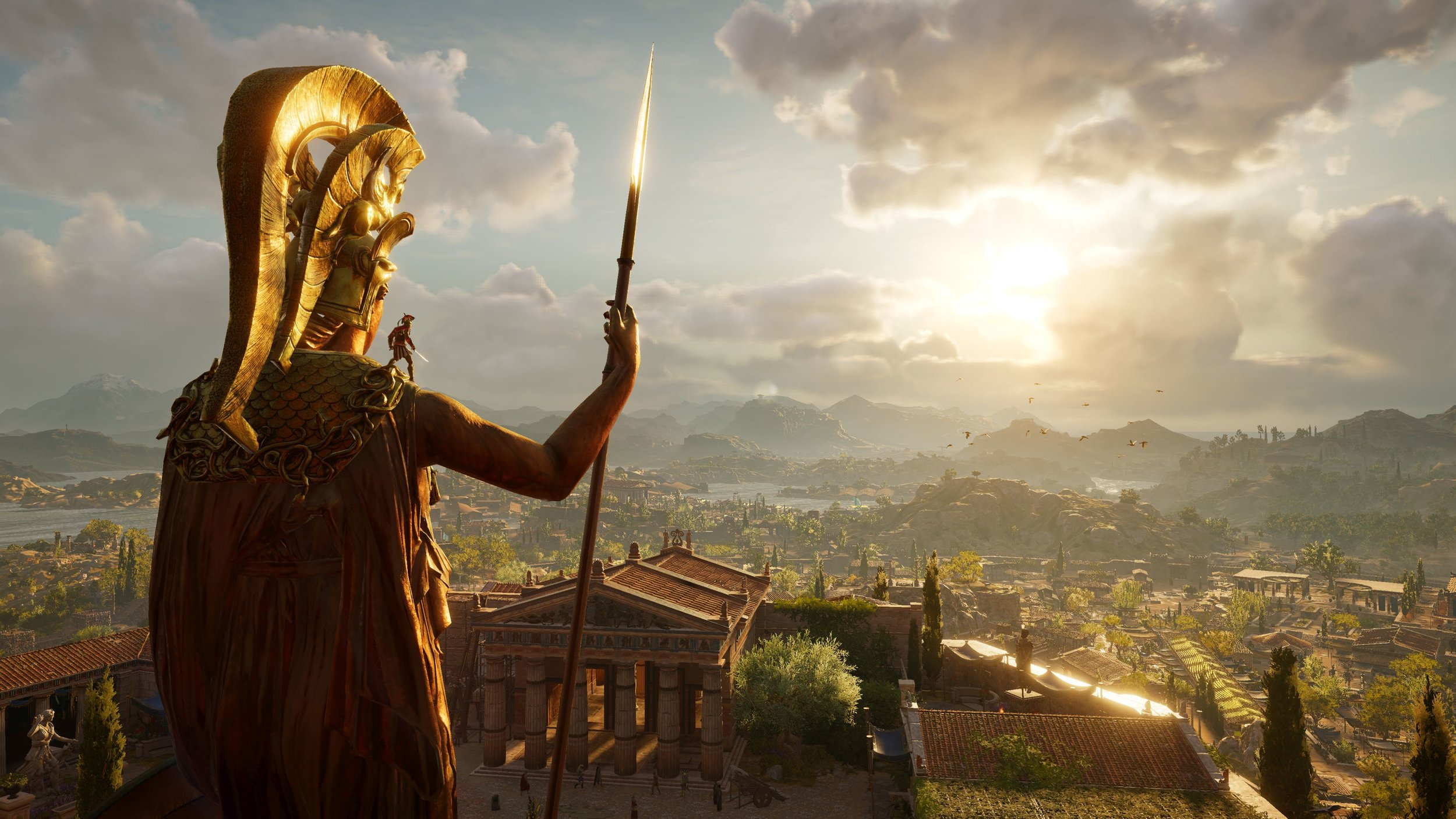 Assassin's Creed: Odyssey, set in Ancient Greece