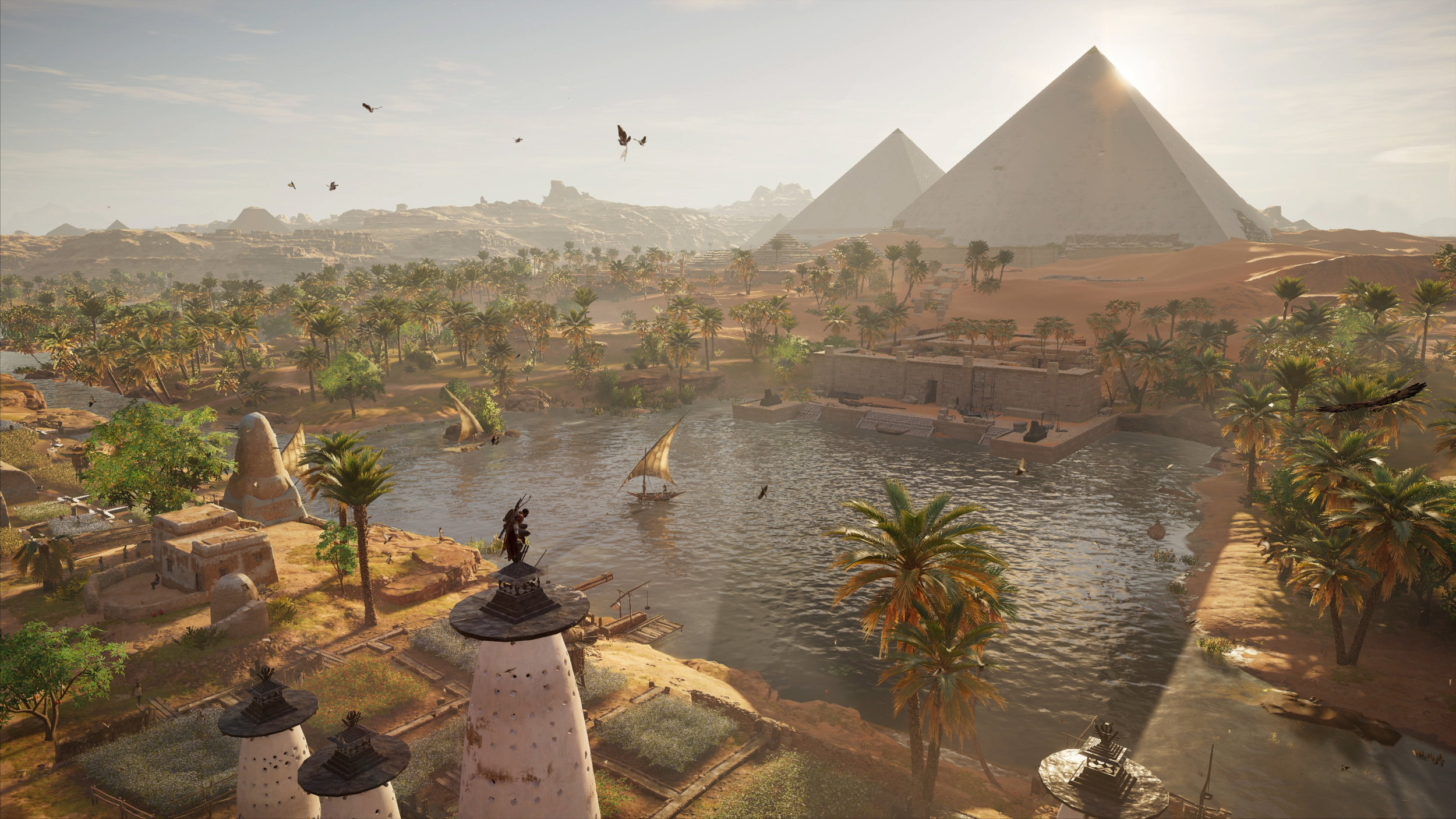 Assassin's Creed: Origins, set in Ancient Egypt