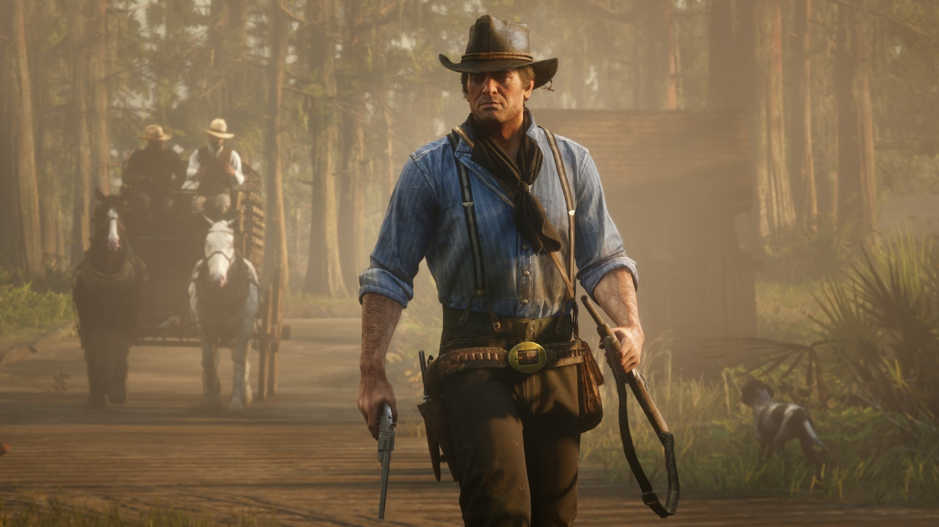 The protagonist of  Red Dead Redemption  2, Arthur Morgan