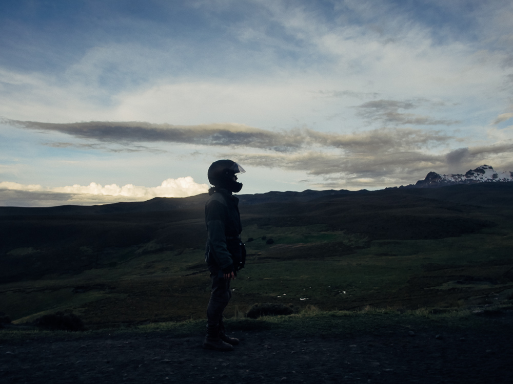Diana near Chimborazo at dusk