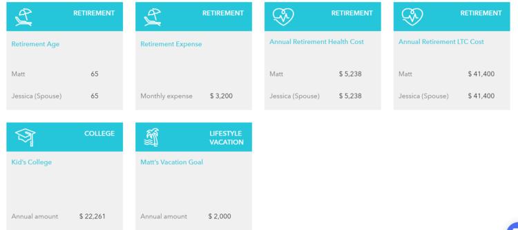 financial goal tracker planning software