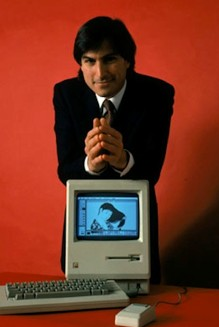steve jobs and mac