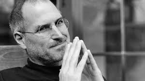 Steve jobs looking thoughful