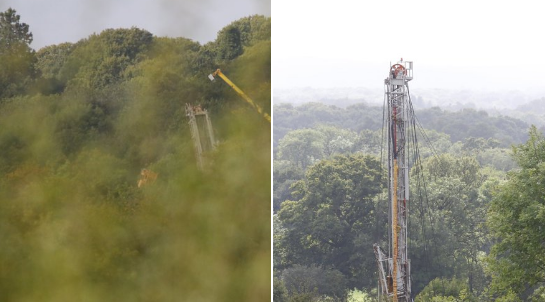 Horse hill rig up Sep 24th 2019 @Adrian