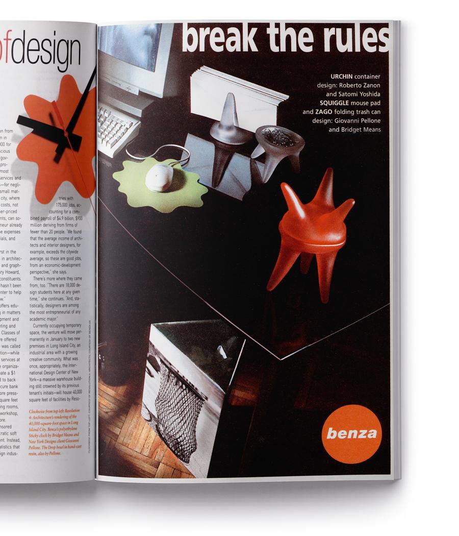 Magazine advertising campaign