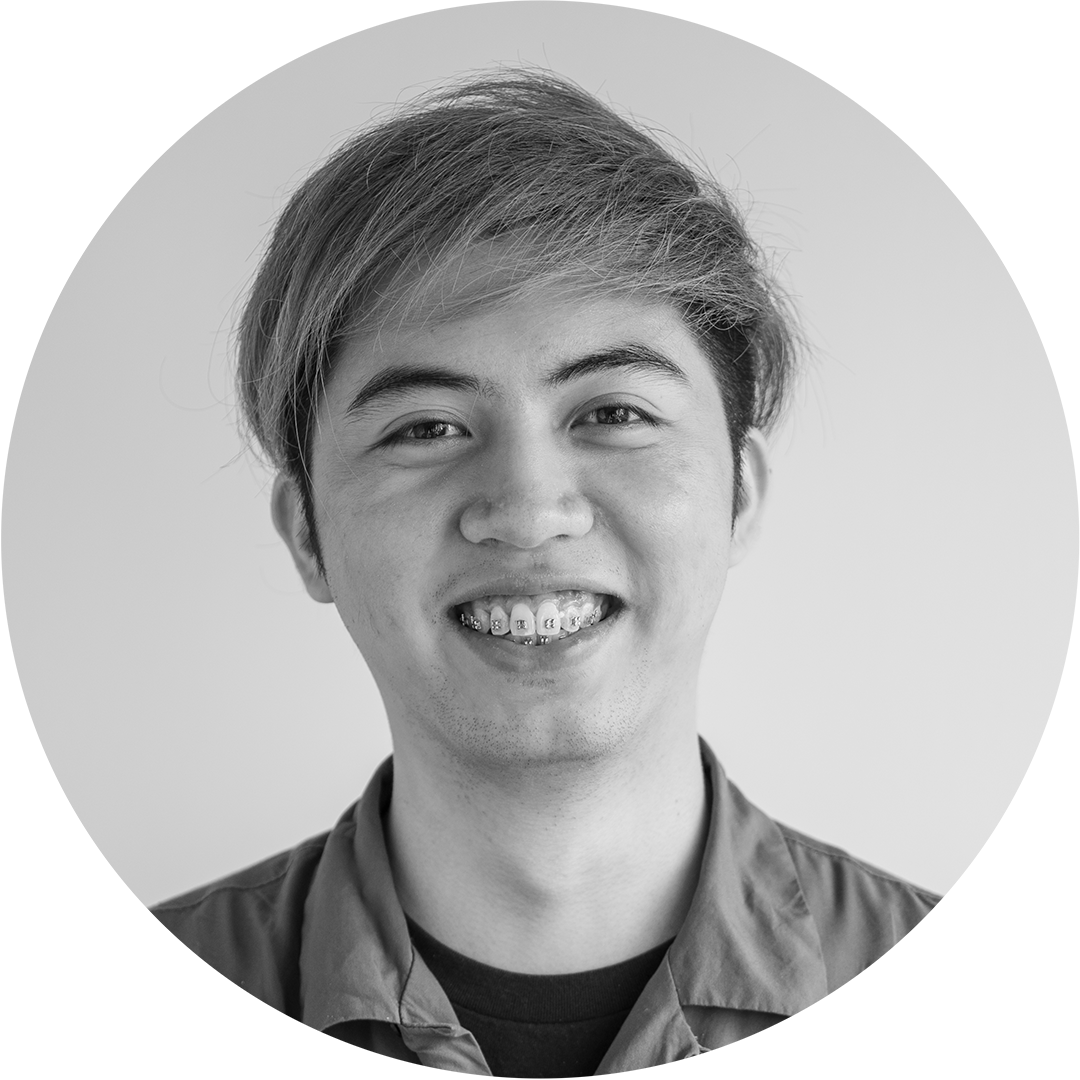 - James Villamayor Communication Design, Motion GraphicsBorn in the Philippines, graduated from Dela Salle College of Saint Benilde, in Manila. His interests include filmmaking, portrait photography, playing drums and playing piano.