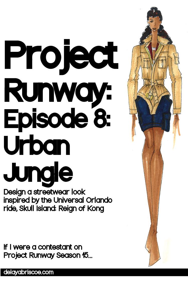 Project-Runway-Episode-8-Skull-Island-Delaya-Briscoe