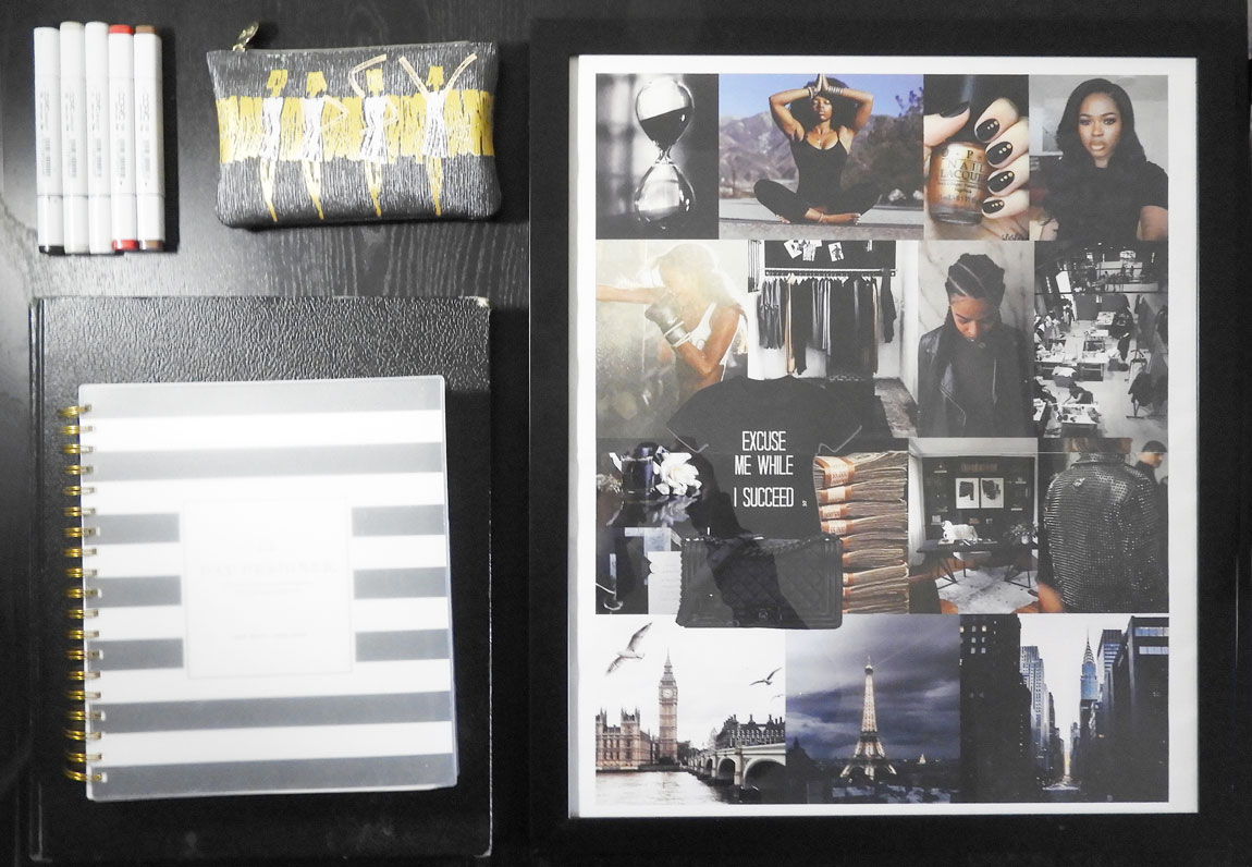 How to make a vision board for your start up business and self growth and the benefits of a vision board.