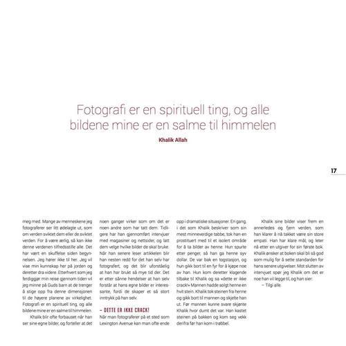 FREKVENS MAGAZINE, NORWAY PAGE 17