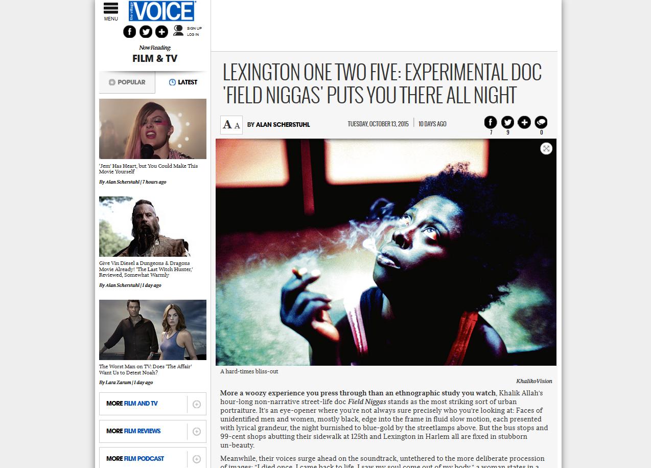 The Village Voice Review
