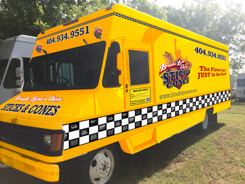 Brooke Lynn's Own Sticks and Cones food truck