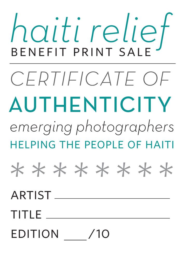 Certificates of authenticity