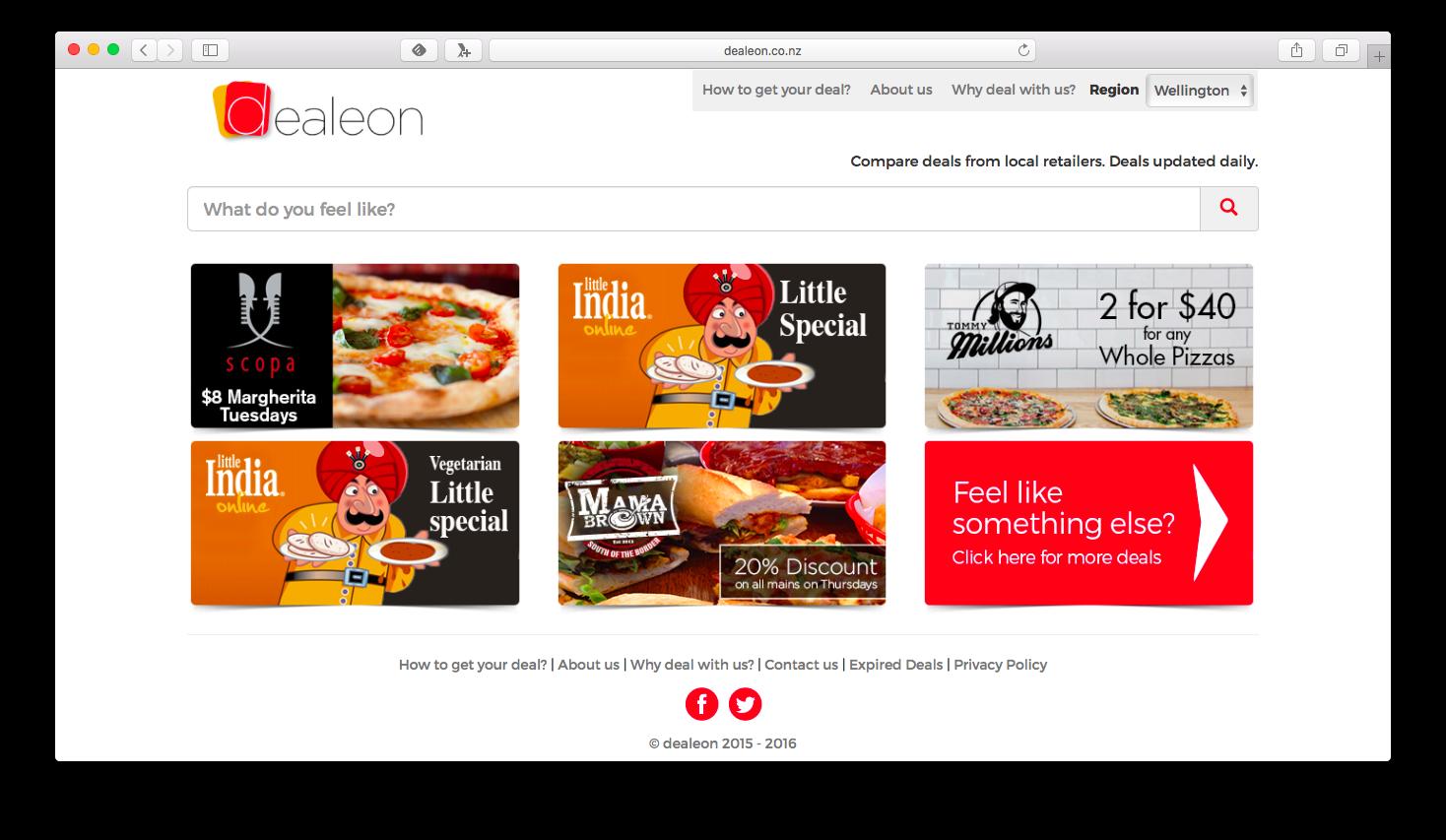 Dealeon website