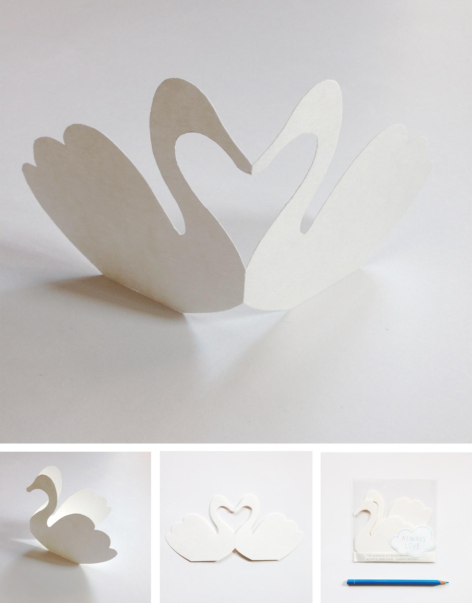 白鳥のALWAYS LOVE CARDS