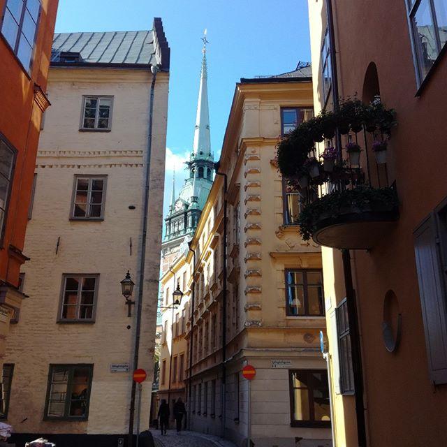 #stockholm #oldtown  Upea päivä Tukholmassa, eilen.