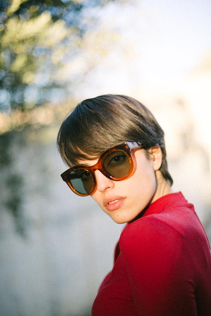 Raquel San Nicolás. Singer + actress + model + writer. Featuring model  ORBI GRADE HONEY.