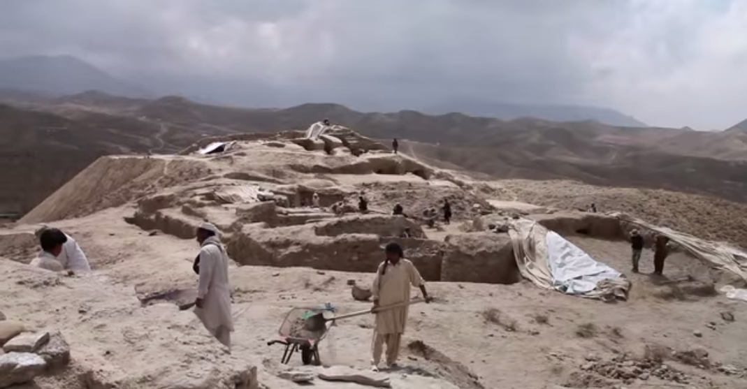Still much to be uncovered: Mes Aynak (picture courtesy of Kartemquin Films)