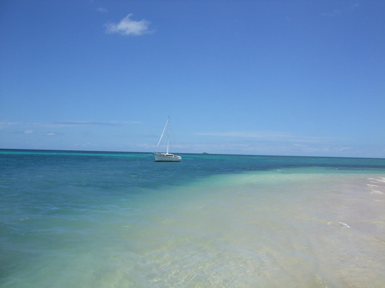 Pic: Close to the shoreline, Fafa Island, Tonga