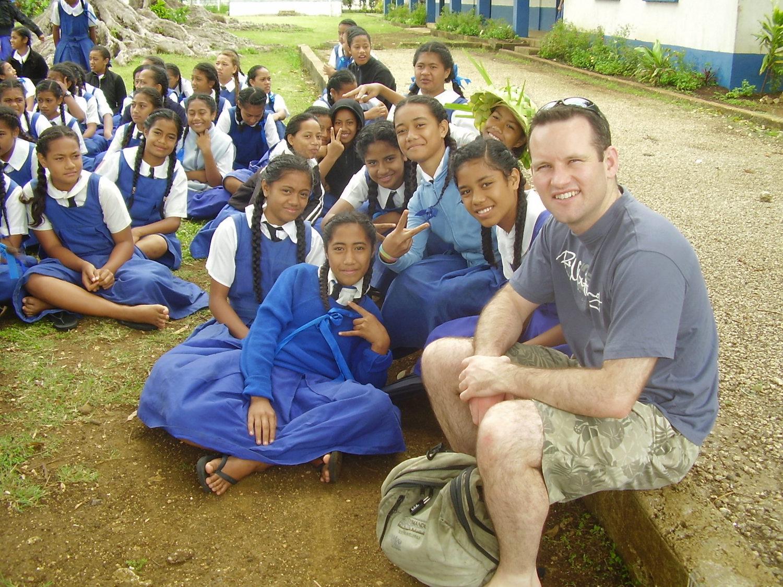 Pic: Tongan High School Girls
