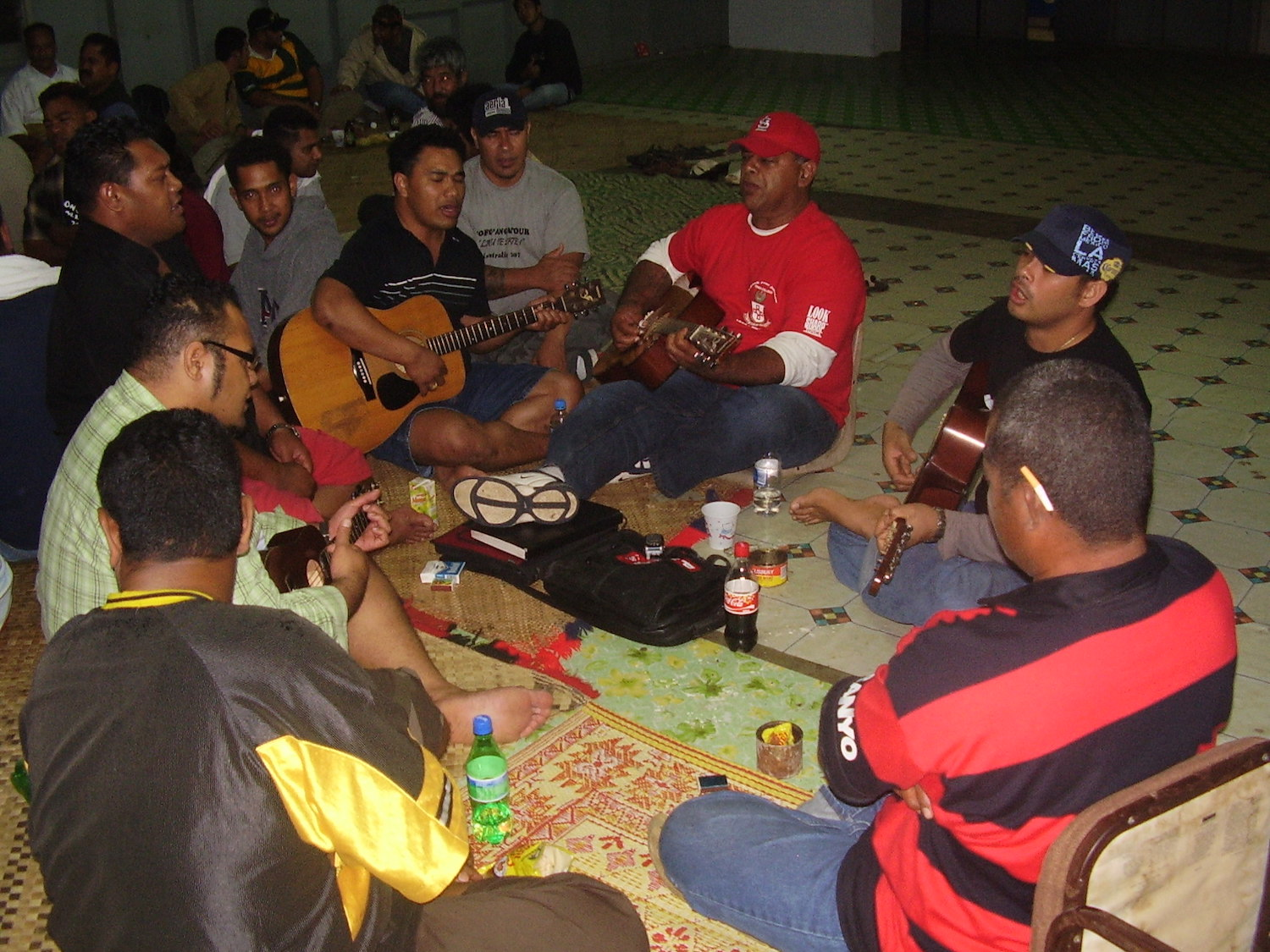 Pic: Kava induced sing-along time