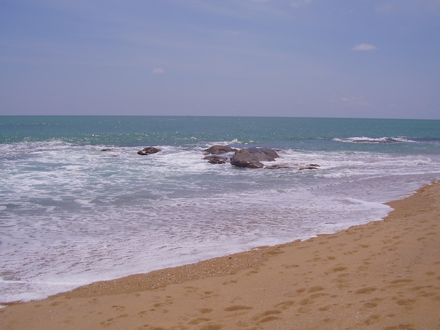 Pic: Intended and Eventual Destination - Khao Lak
