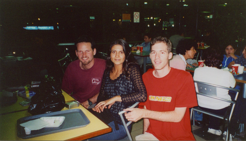 Pic: Stuart, Beatriz and Tom