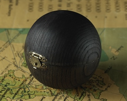 Blackened Oak Pocket Case