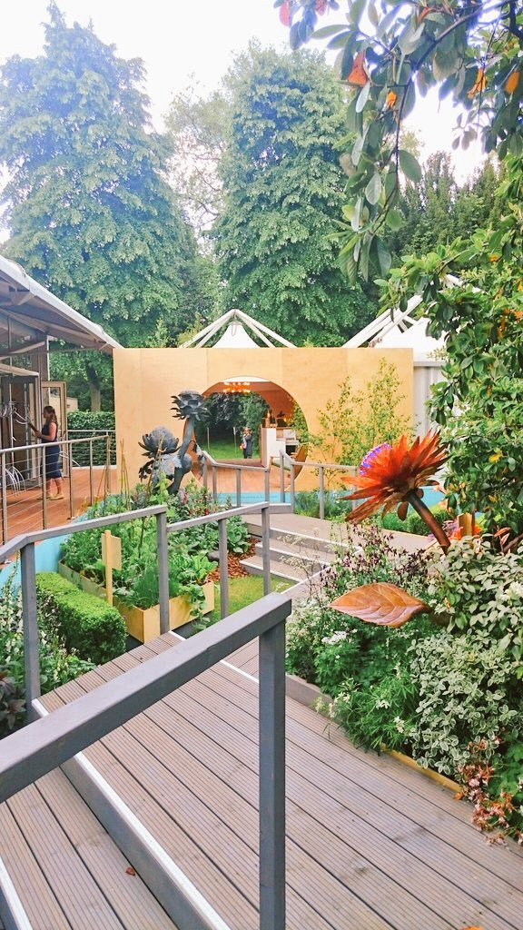 Andy and Paul's quirky garden