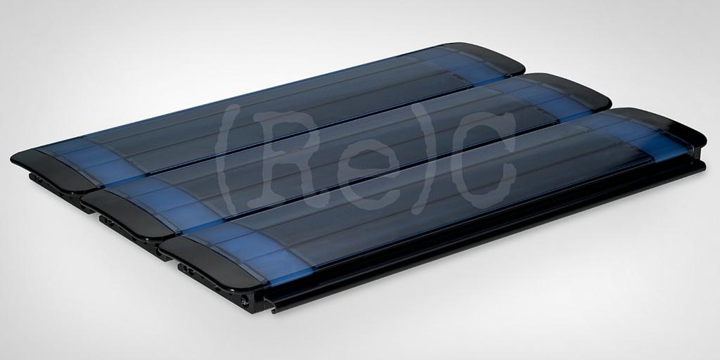 63.PC.34BF Polycarbonate Anti Algae Solar Blue Black Finishing