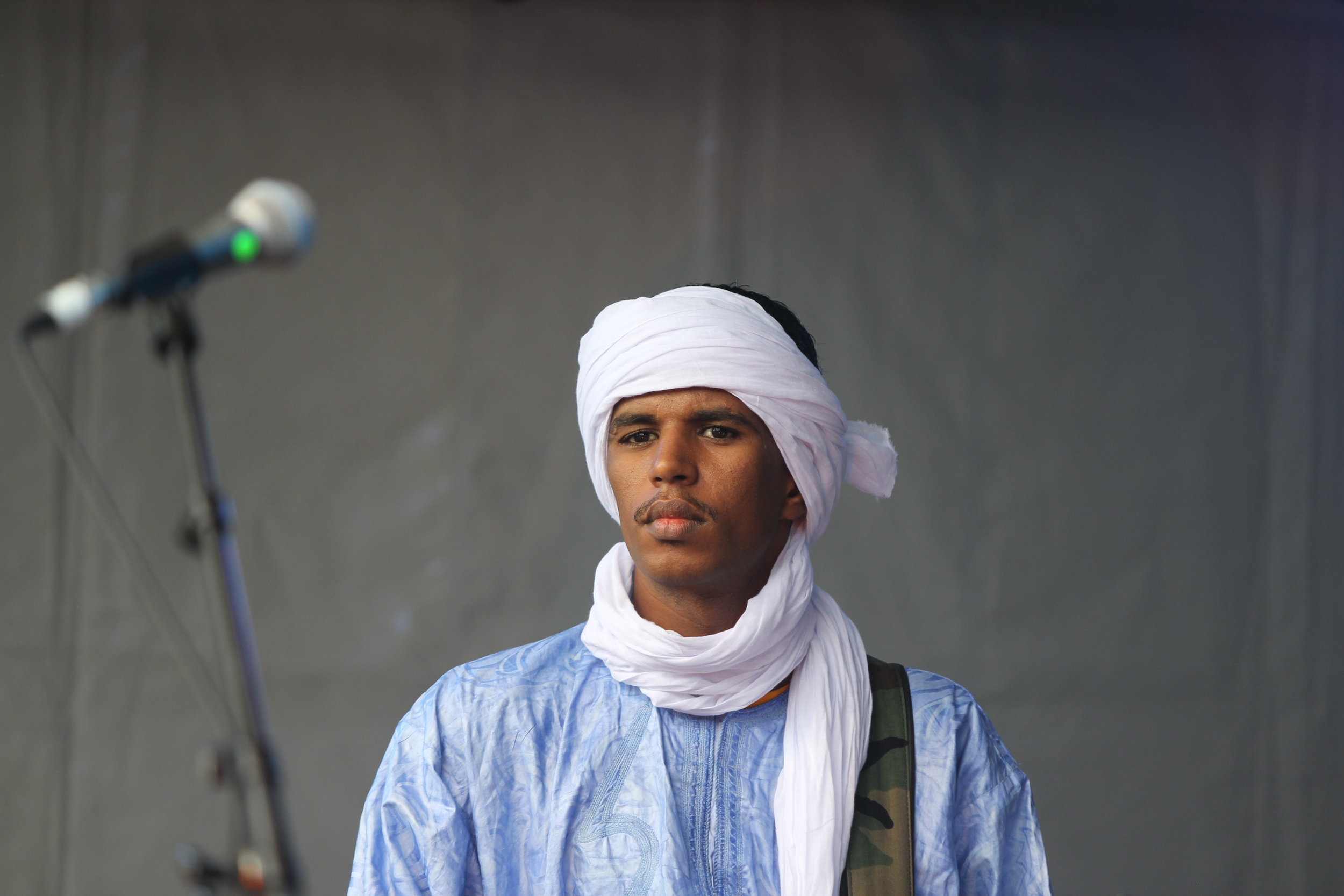 """""""Kel Tamashek rebelled against the government, and because of the resulting difficulty in studying we decided to form Tamikrest"""" ( Ousmane Ag Mossa)"""
