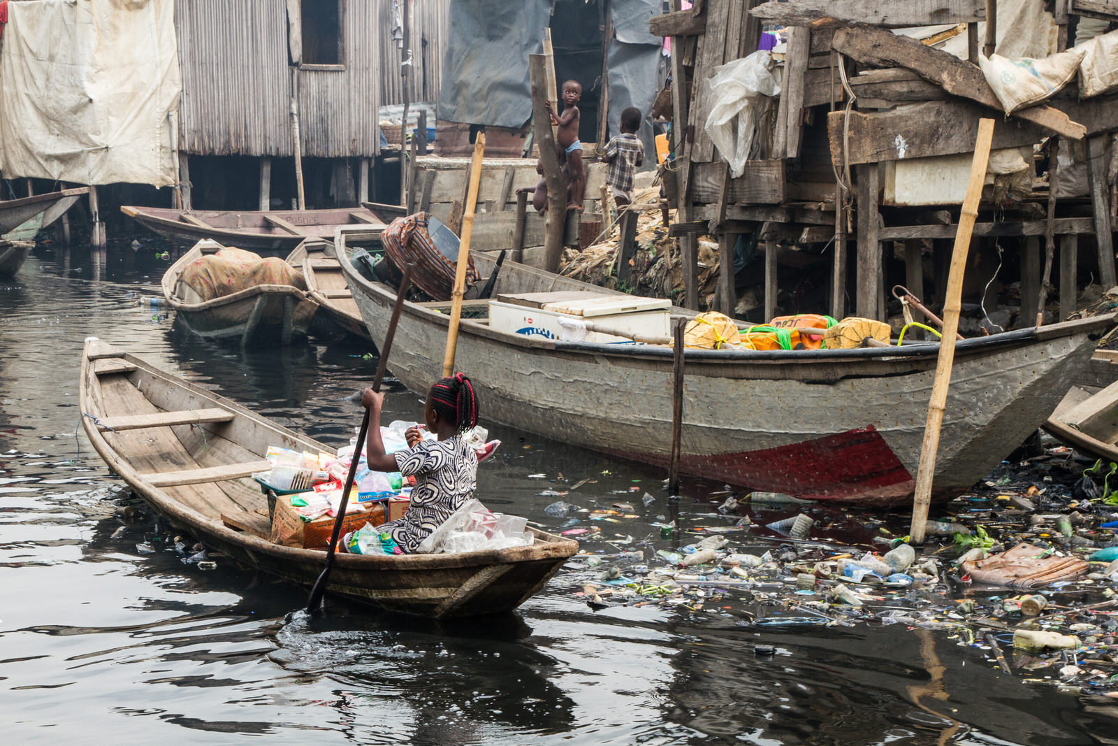 Many evictees have begun to return, though the rising cost of land on the waterfronts of Lagos remain a continued threat for Sogunro as well as Otodo Gbame and many others.