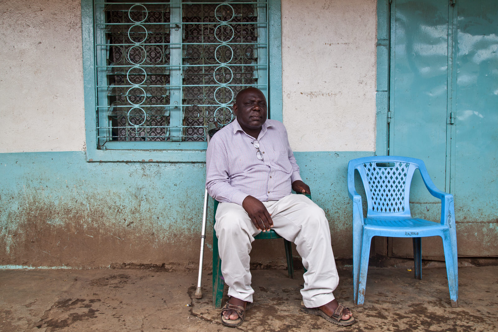 The market master of Kondele is responsible for managing the market, allocationg spaces and collecting revenue.