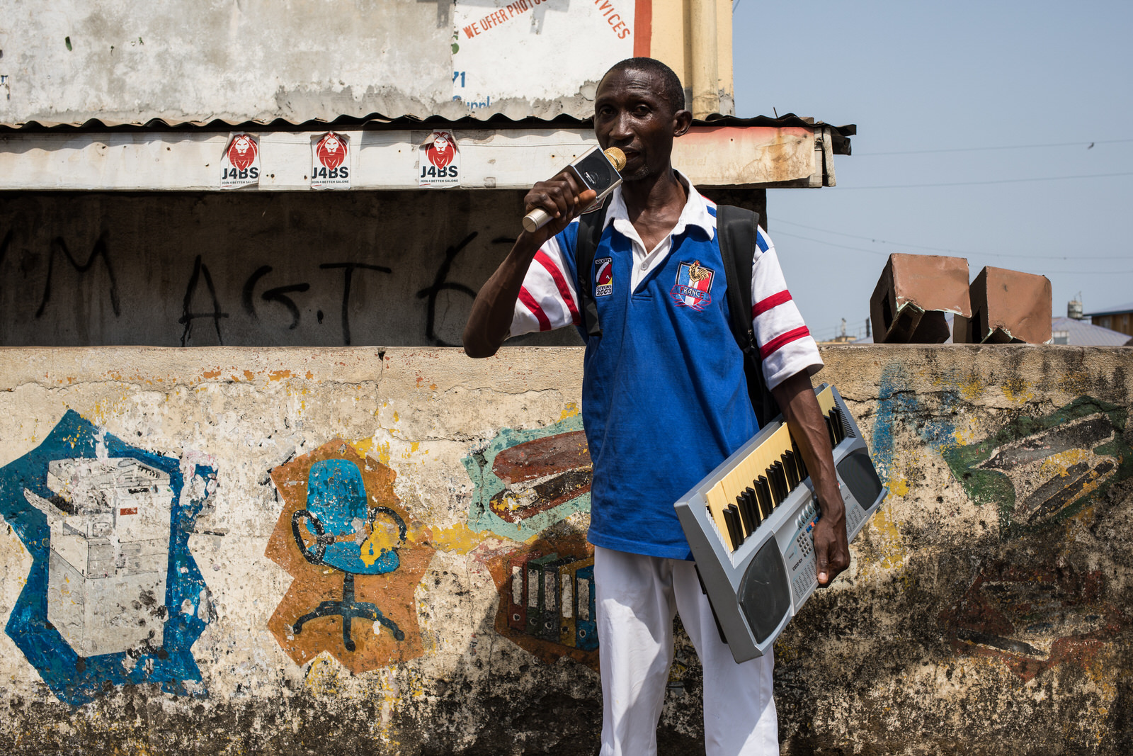 Prince John the Preacher Man   Freetown, Sierra Leone