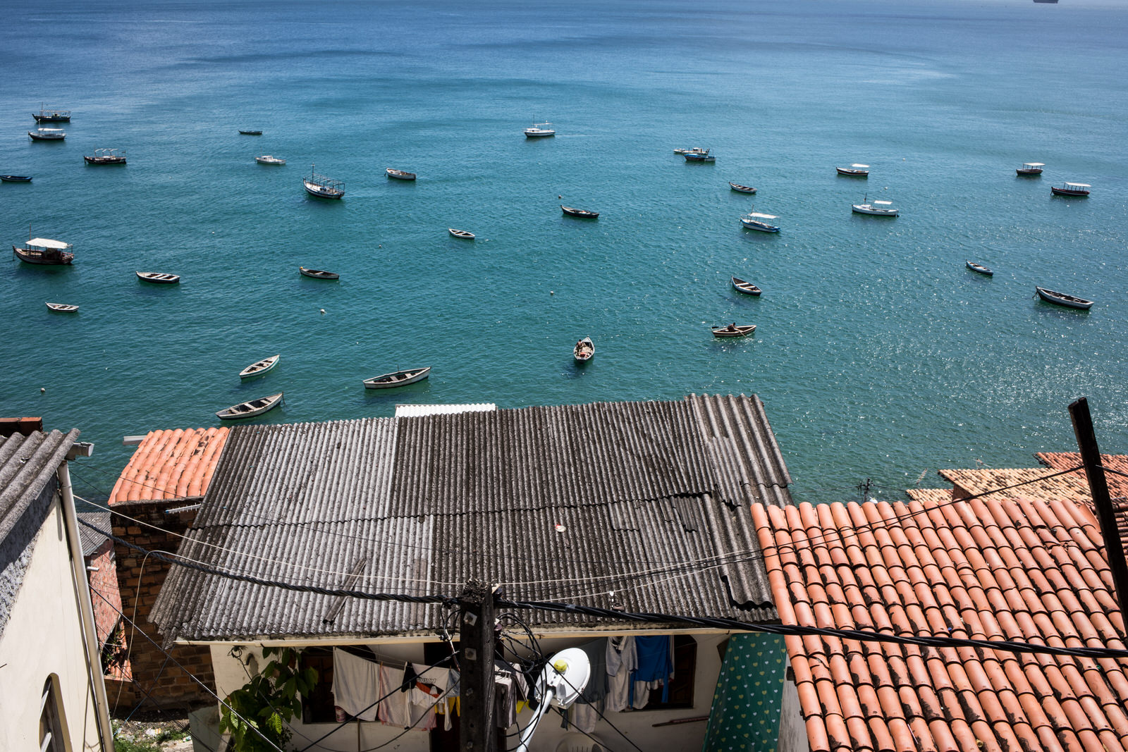 Gamboa de Baixo is a neighbourhood located near the coastline and close to  Pelourinho , the historic city centre. It is a traditional fishing community of about 350 predominantly black families.