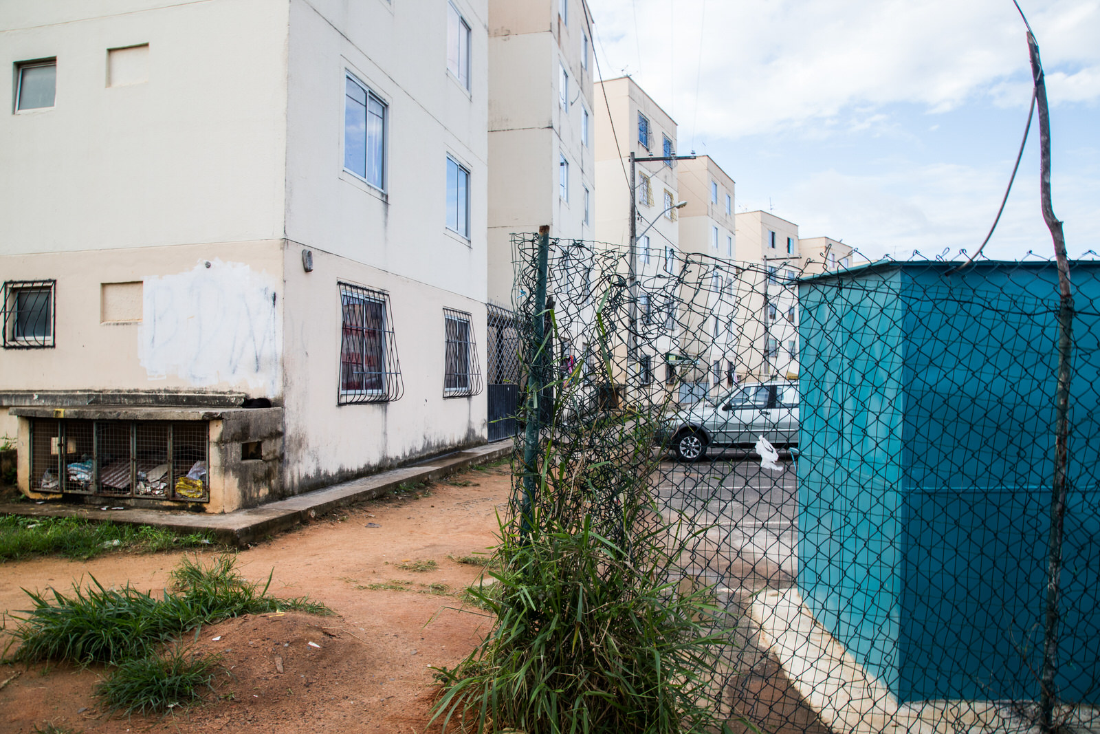 'Minha Casa, Minha Vida' is the largest social housing programme in Latin America, though locations of projects often have poor accesses to services in the city. Bosque das Bromélias in the outskirts of Salvador is an example.