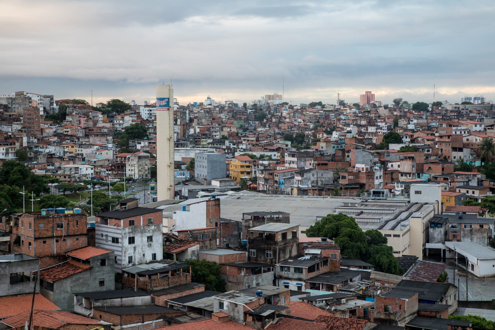 Salvador de Bahia is the 4th largest city in Brazil, and is situated in the Northeast of the country.