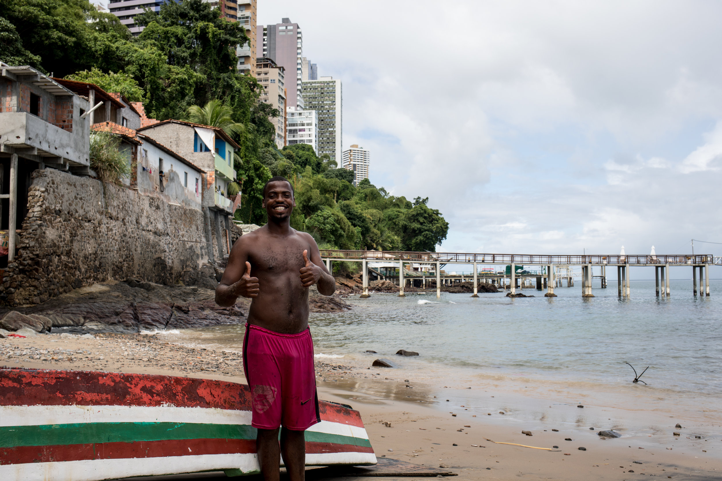 Residents have used identity and culture to combat misrecognition. Fishing is an inherent aspect of the community and their relation to the sea is one of the reasons for their right to stay in the Bay of All Saints.