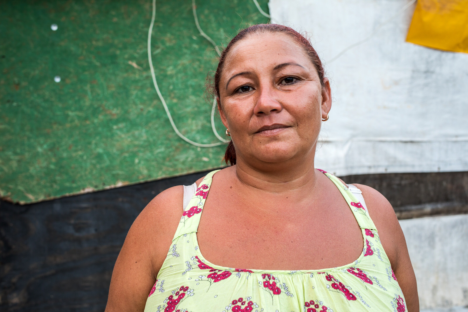 Maria Lucianne Lobato Ferreira (Lôra), a leader from Guerreira Maria and state coordinator for MSTB. Lôra says she doesn't feel that she has the right to the city.