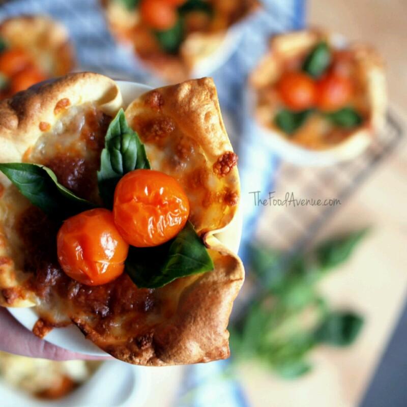 Mini lasagne pots