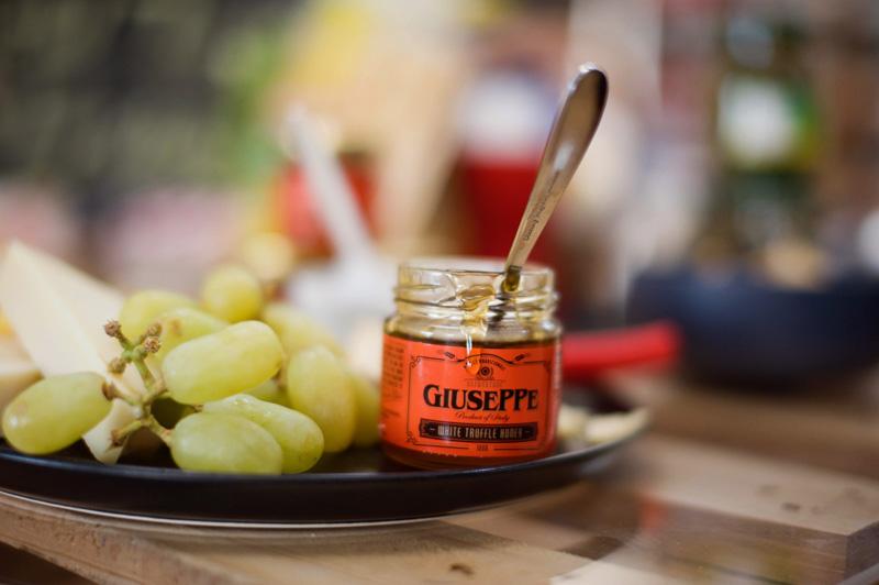 Truffle infused honey