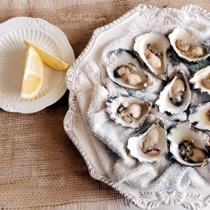 Oysters I shucked myself