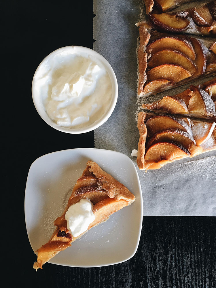 Pie with Peaches