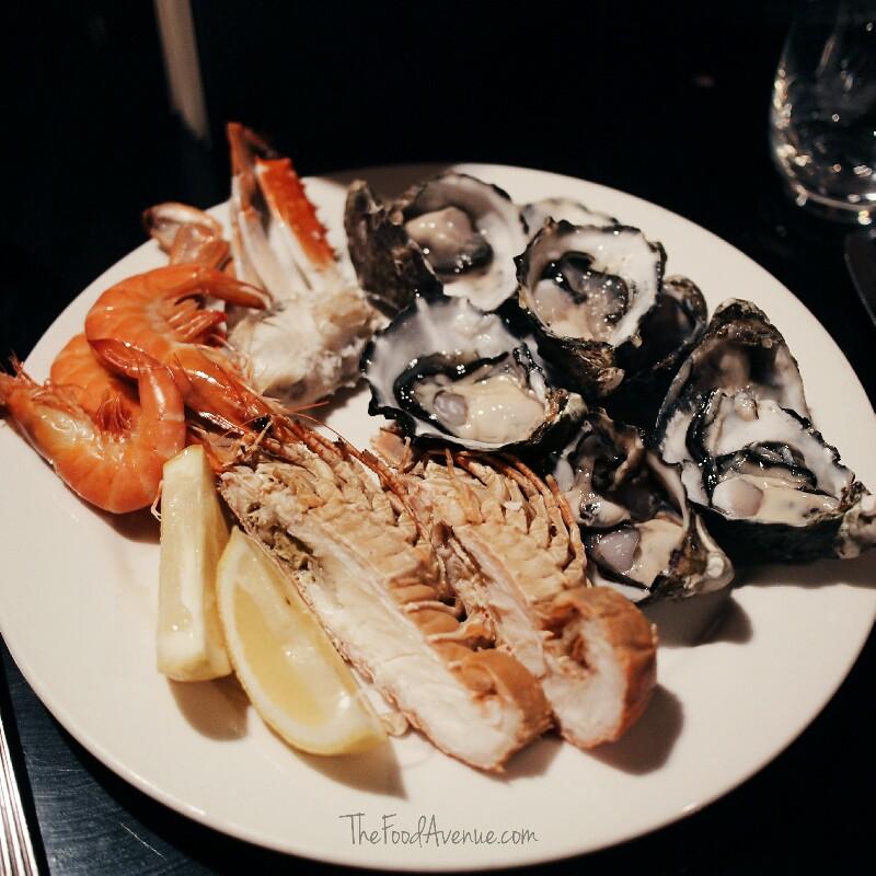 Seafood options