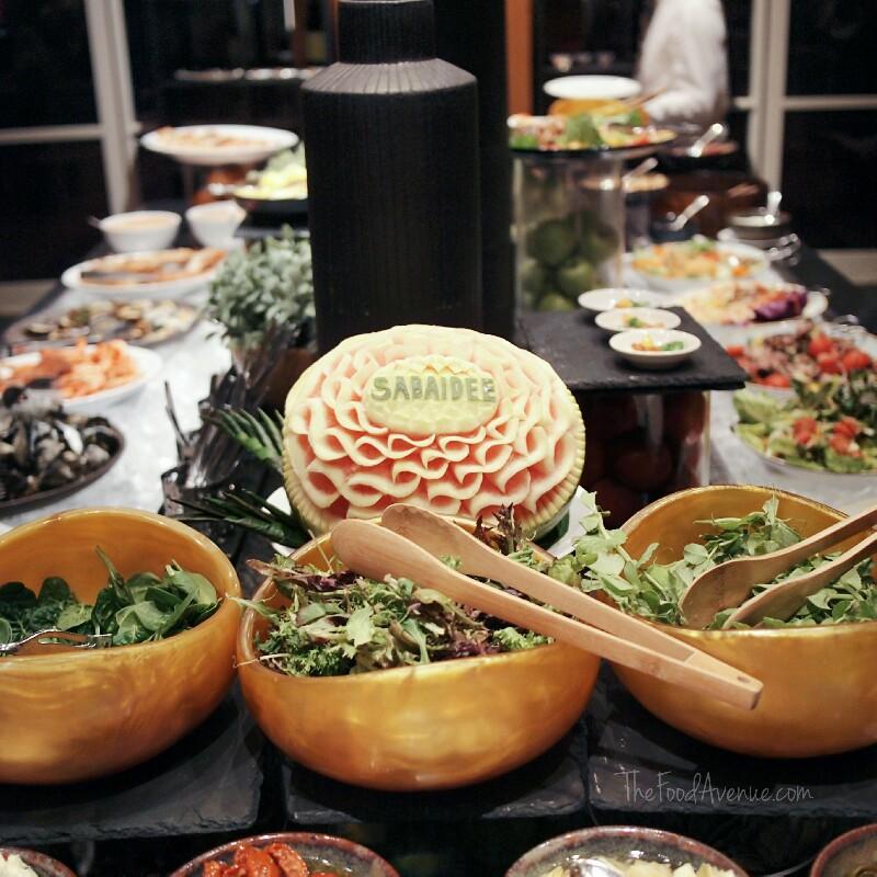 Mekong Neua themed buffet