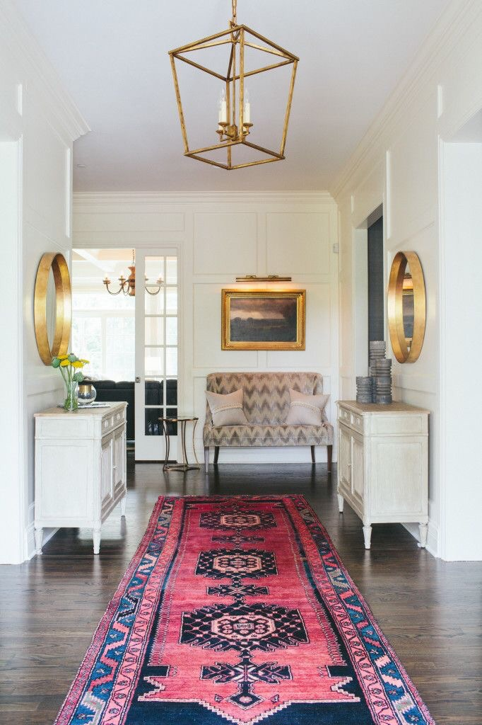 Front Foyer by Kate Marker Interiors