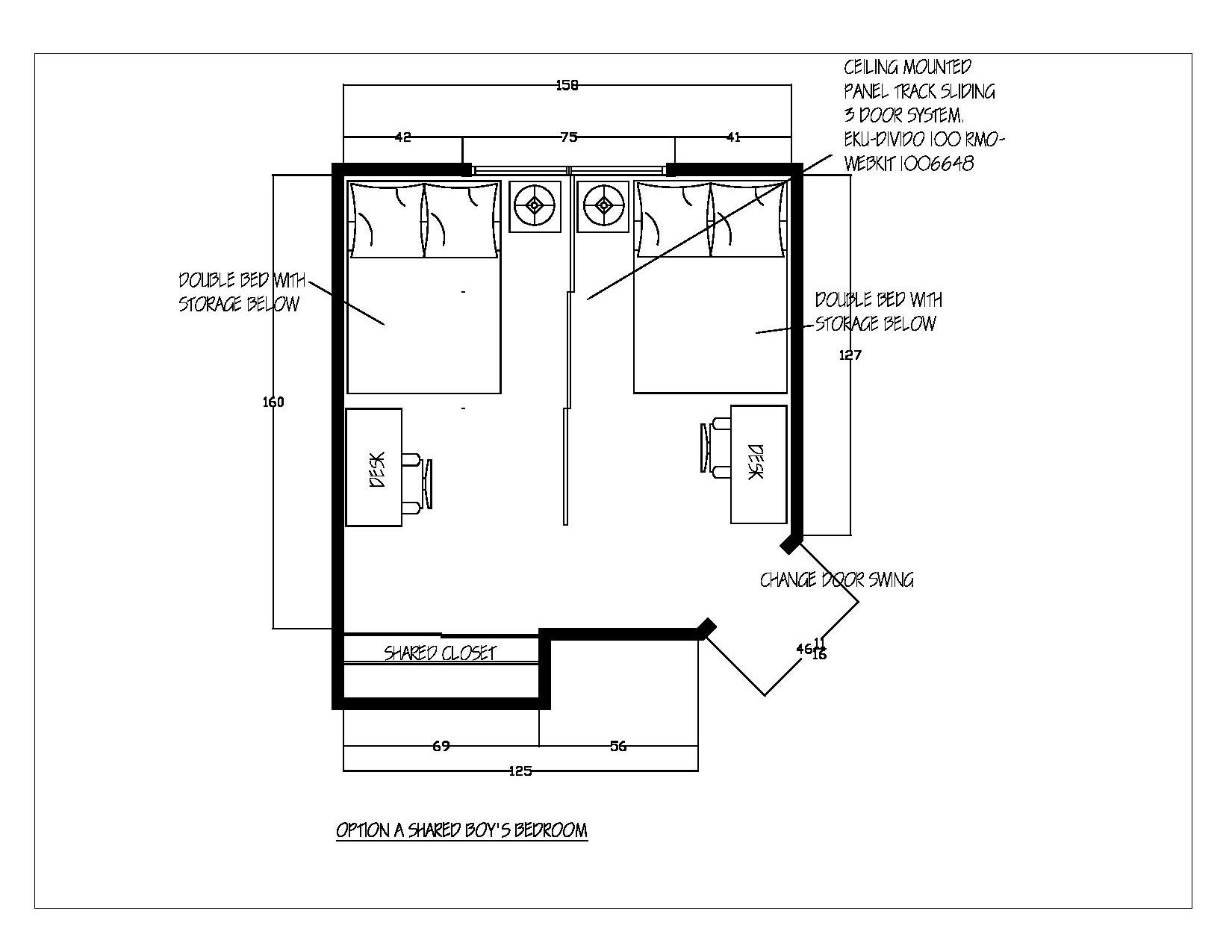 Boys Bedroom Design Plan Guelph
