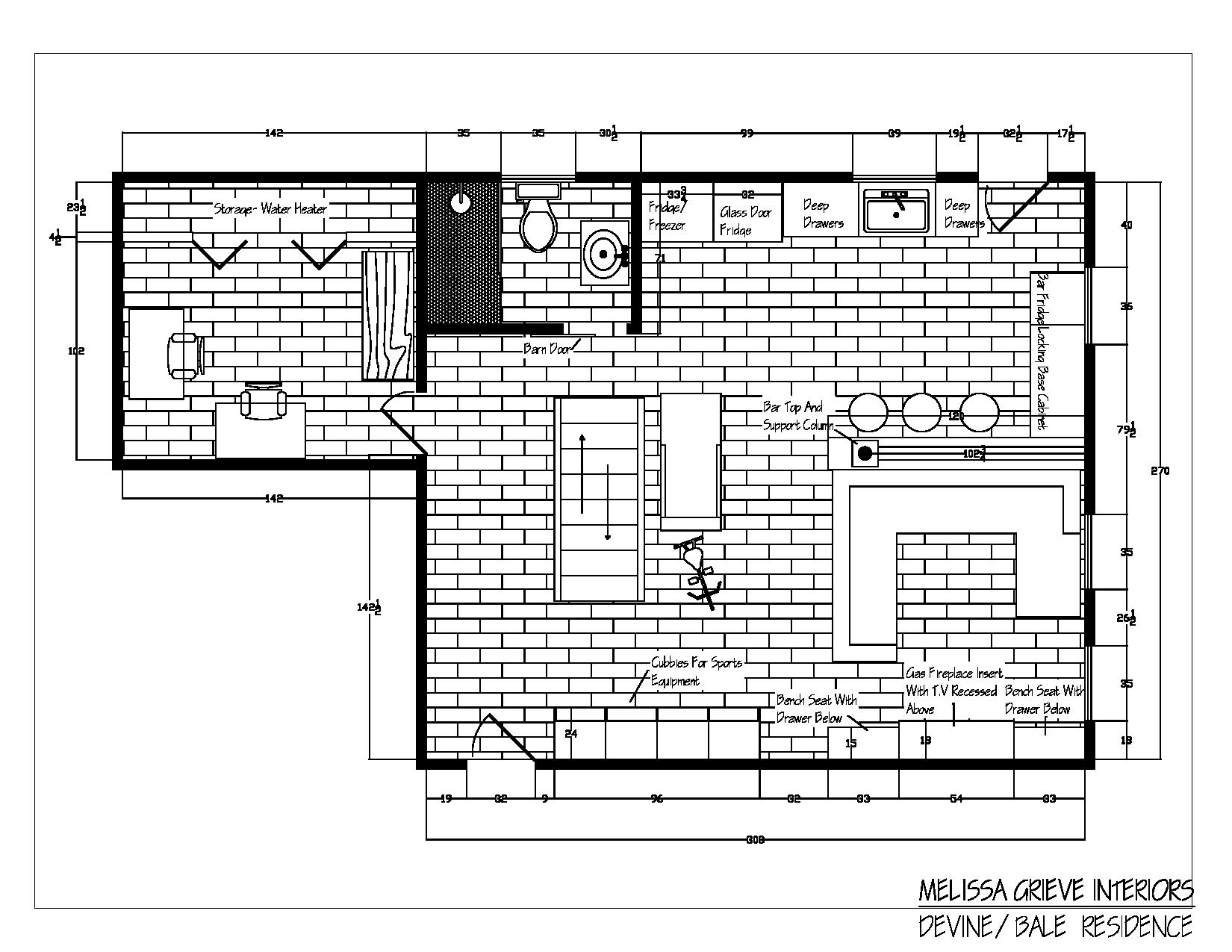 Floor Plans, Guelph, Interior Design