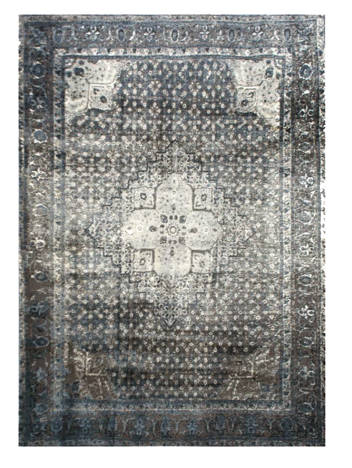 Pascoe Blue/Grey & Silver Area Rug